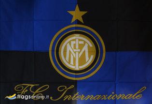 Drapeau Inter Milan FC