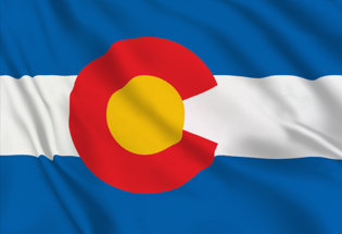 Drapeau Colorado