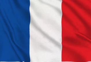 Drapeau Français #jerestechezmoi