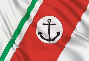 Drapeau Garde côtière italienne