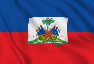 Drapeau Haiti officiel