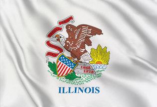 Drapeau Illinois