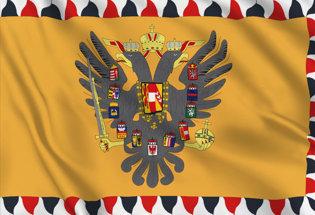Drapeau Empire Autriche-Hongrie (1816-1849)