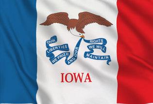 Drapeau Iowa