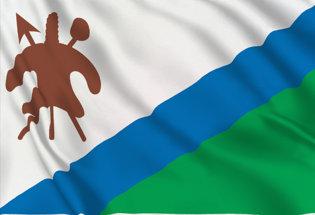 Drapeau Lesotho (1987-2006)
