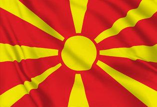 Drapeau Macédoine du Nord