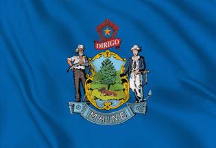 Drapeau Maine