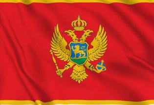 Drapeau Montenegro