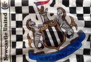 Drapeau Newcastle United Football Club