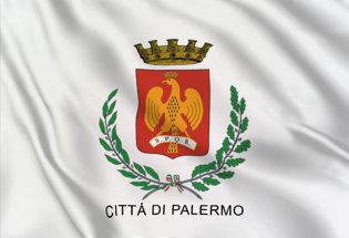 Drapeau Ville de Palerme