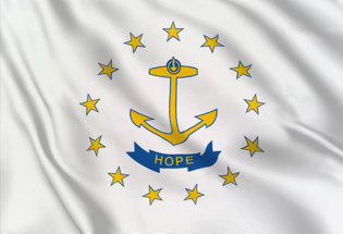 Drapeau Rhode-Island
