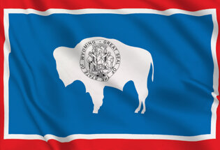 Drapeau Wyoming