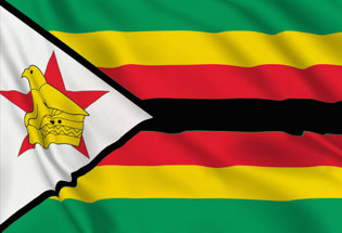 Drapeau Zimbabwe