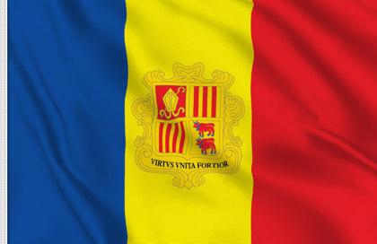 Drapeau Principauté d'Andorre