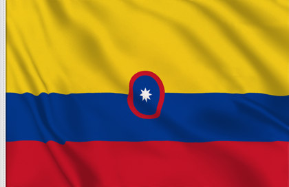 Drapeau Colombie (Marine marchande)