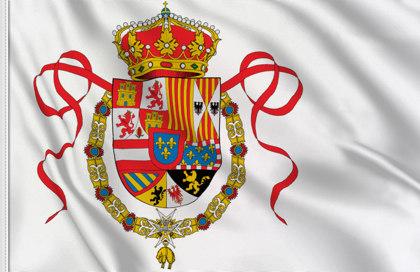 Drapeau Royaume d'Espagne (Marine militaire) (1701-1760)