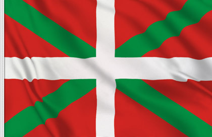 Drapeau de table Pays Basques