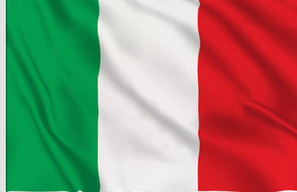 Drapeau de table Italie