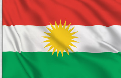 Drapeau de table Kurdistan