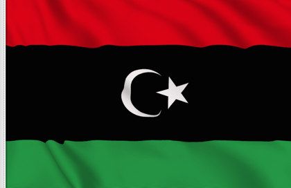 Drapeau de table Republique libyenne
