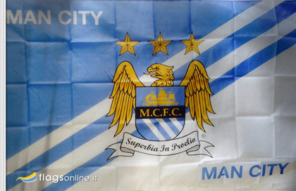 Drapeau Manchester City FC