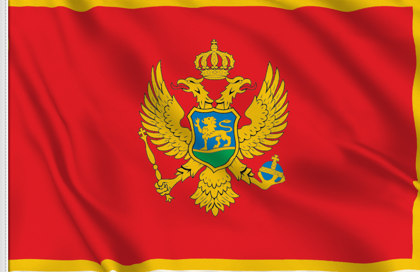 Drapeau de table Montenegro