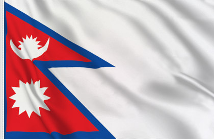 Drapeau de table Nepal
