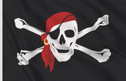 Drapeau Pirate avec bandana