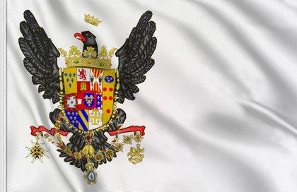 Drapeau d'État du Royaume de Sicilie (1734-1816)