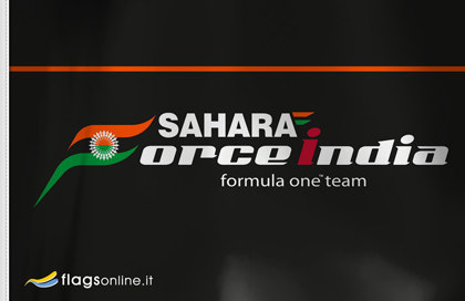 Drapeau Sahara Force India