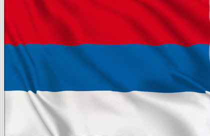 Drapeau Serbie nationale