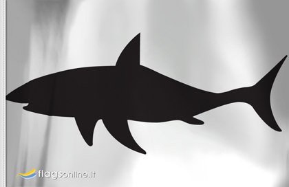 Drapeau Danger Requins