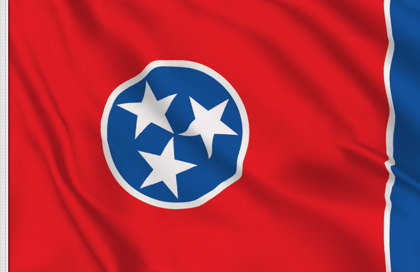 Drapeau Tennessee