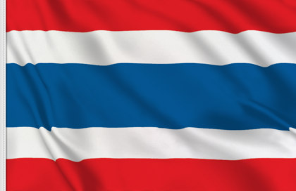 Drapeau de table Thailande