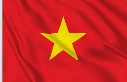 Drapeau de table Viet-nam