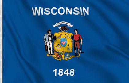 Drapeau Wisconsin