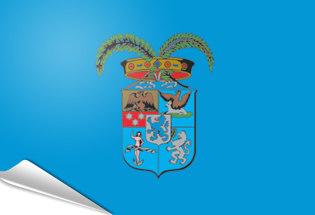 Drapeau adhésif Province de Brescia