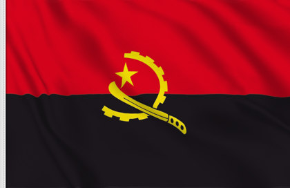 Drapeau de table Angola