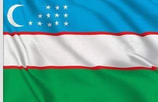Drapeau Ouzbékistan