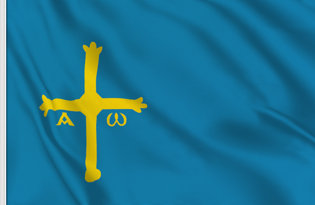 Drapeau Asturies