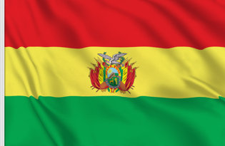 Drapeau Bolivie officiel
