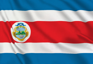 Drapeau Costa Rica officiel