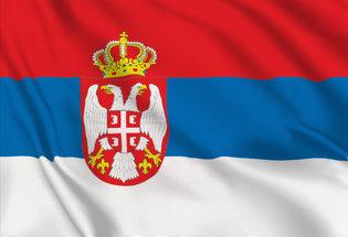 Drapeau Serbe
