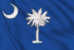 Drapeau Caroline du Sud