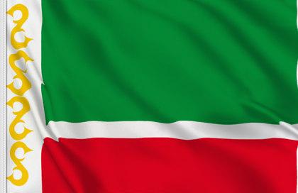 Drapeau République Tchétchène