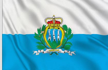 Drapeau Saint Marin (État)