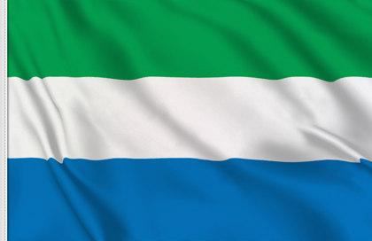 Drapeau Sierra Leone