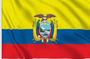 Drapeau de table Equateur