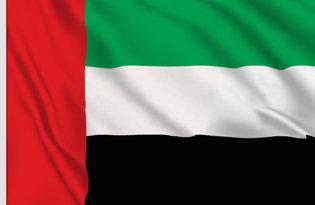 Drapeau de table Emirats Arabes Unis