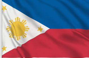 Drapeau de table Philippines
